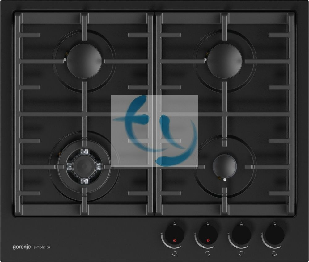 Gorenje GKTG6SY2B, beépíthető üvegkerámia gáz főzőlap, Simplicity, 3 ÉV GARANCIA