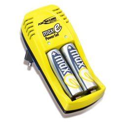 Ansmann akkumulátor + töltő