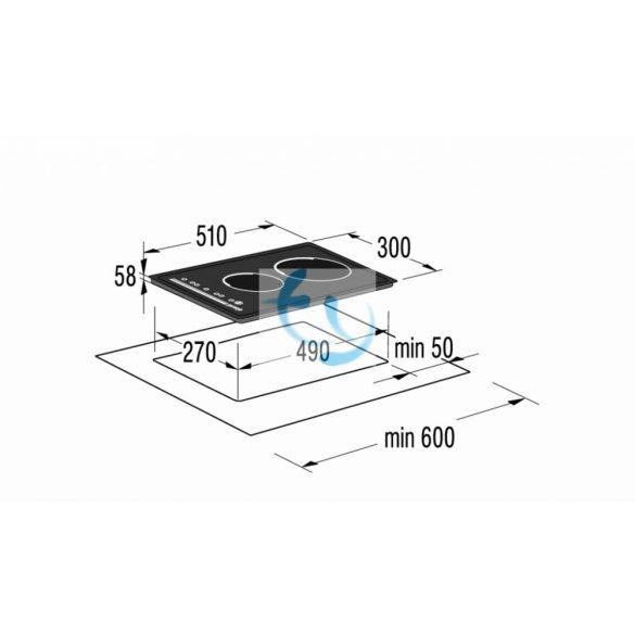 Gorenje IT 320 AC - Dominó indukciós főzőlap - GYÁRI GARANCIA