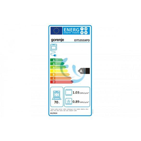 Gorenje EIT5355XPD indukciós tűzhely, gyári garancia