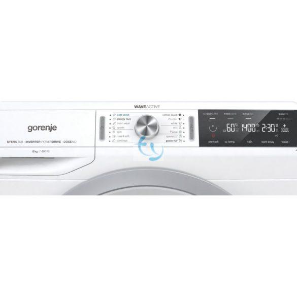 Gorenje WA 844 Szabadonálló automata mosógép, A+++,  Gyári garancia