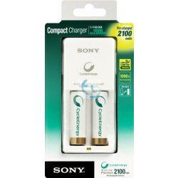 Sony BCG34HW2KN 2100 mAh tölthető elem, akkumulátor töltővel