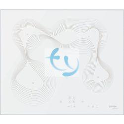 Gorenje ECT680KR, beépíthető elektromos főzőlap, fehér, Karim Rashid, 3 ÉV GARANCIA