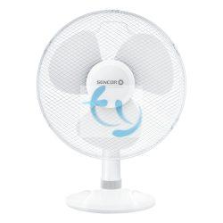 Sencor SFE 4030WH Asztali ventilátor, 40 cm, 1 ÉV GARANCIA