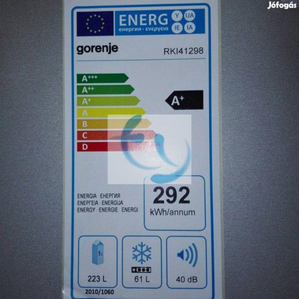 Gorenje RKI 41298 beépíthető kombi hűtő - 1 ÉV SAJÁT SZERVIZ GARANCIA