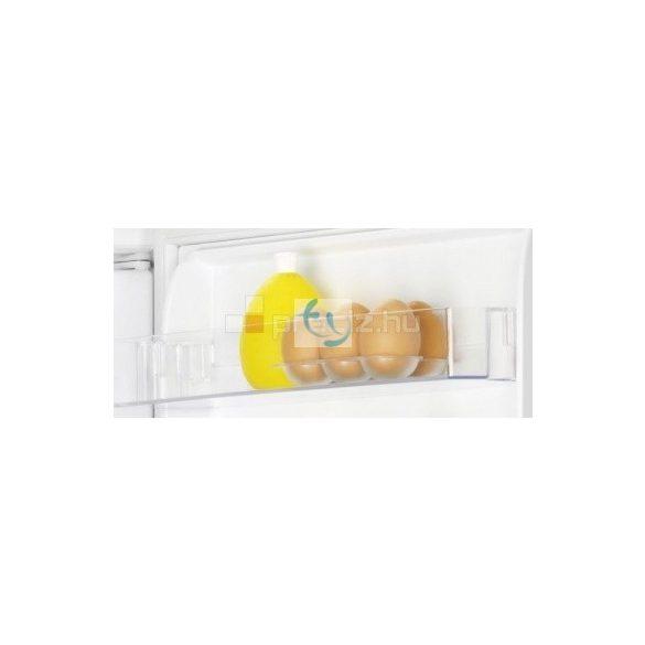 Zanussi ZRA22800WA hűtőszekrény üvegpolcokkal és fagyasztórekesszel, A+ energiaosztályú, 2 év GYÁRI GARANCIA