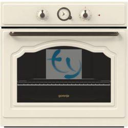 Gorenje BO 73 CLI Beépíthető sütő, RETRO, bézs színű, 3 ÉV GARANCIA