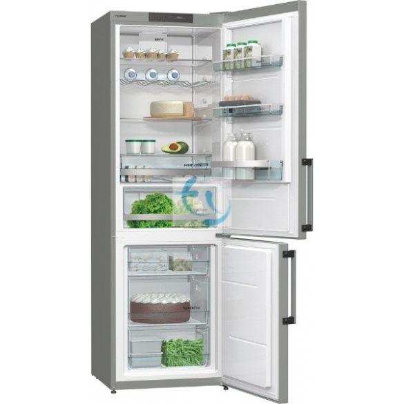 Gorenje RK 6193 KX, A+++, Inox kombinált hűtő, 3 ÉV GYÁRI GARANCIA
