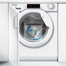 Candy CBWM 814 D-S beépíthető mosógép, A+++, 8 kg, 1400 cff., 2 ÉV GYÁRI GARANCIA