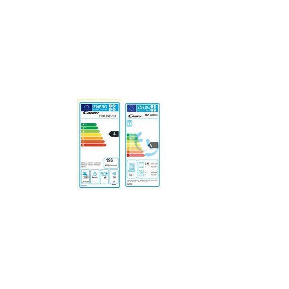 Candy TRIO 9501/1X, inox, gázégős minikonyha,kis esztétikai hibával, GYÁRI GARANCIA