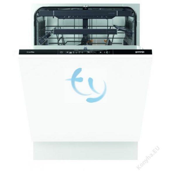 Gorenje GV66160, A+++, beépíthető mosogatógép, GYÁRI GARANCIA