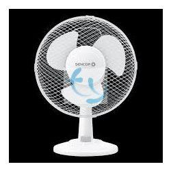 Sencor SFE 2320WH Asztali ventilátor, 23cm, 1 ÉV GARANCIA